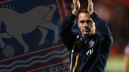 Paul Hurst is the new manager of Ipswich Town. Picture PA.
