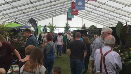 Suffolk Show Day One Crowds Picture: KATY SANDALLS