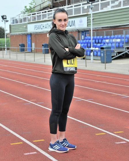 Lily Partridge, who came eighth in this year's London Marathon, started running professionally while