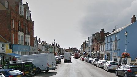 The incident happened in High Street, Aldeburgh, on Monday afternoon. Picture: GOOGLE MAPS