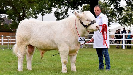 Darren Knox with his Reserve Champion Picture: NICK BUTCHER