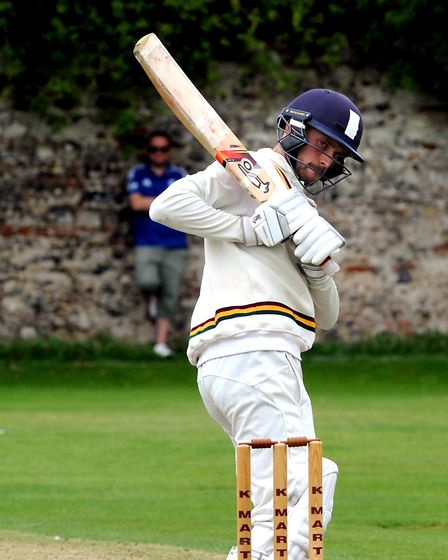 Sudbury's Adam Mansfield , who made 44 at the weekend Photo: ANDY ABBOTT