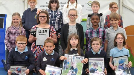 Sandlings Primary School, Saxmundham Primary and The Ashley School Academy Trust at the Farming Scho