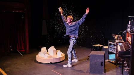 I Wish I Was A Mountain is part of PULSE 2018, hosted by the New Wolsey Theatre. Photo: PULSE Festiv