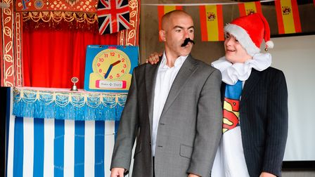 Punch and Judy part of PULSE 2018, hosted by the New Wolsey Theatre. Photo: PULSE Festival
