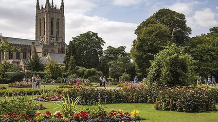 Abbey Gardens in Bury St Edmunds Picture: MARTIN GRAYLING