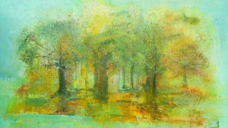 In Simple Splendour by Hilary Barry who is taking part in Suffolk Open Studios this June. Photo: Su