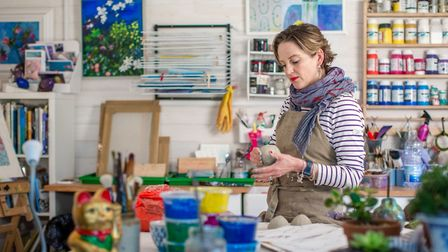 Lucy Perry who is taking part in Suffolk Open Studios this June. Photo: Suffolk Open Studios