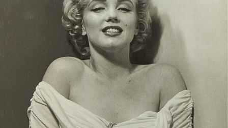 Marilyn by Philippe Halsman, part of the Timeless Marilyn Monroe exhibition which is being staged a
