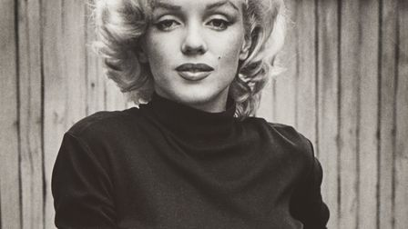 A signed print of Marilyn by Alfred Eisenstaedt is part of the Timeless Marilyn Monroe exhibition wh
