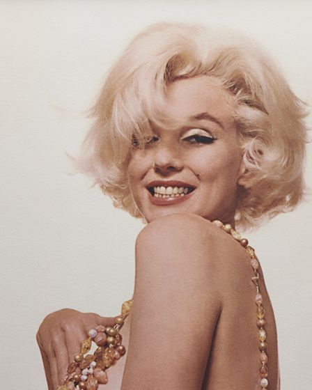 Image from Marilyn's last photo session in 1962 by Bert Stern, part of the Timeless Marilyn Monroe