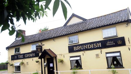 Locals say The Crown Inn in Brundish is at the heart of the village Picture: SU ANDERSON