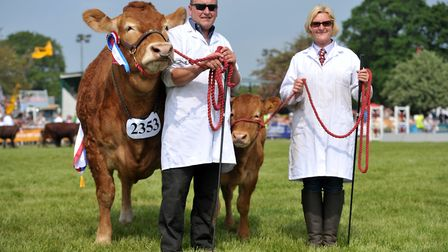 The Grand Parade on the final day of the Suffolk Show 2018 Picture: SARAH LUCY BROWN