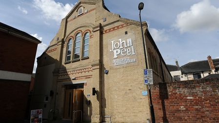 The John Peel Centre in Stowmarket Picture: PHIL MORLEY