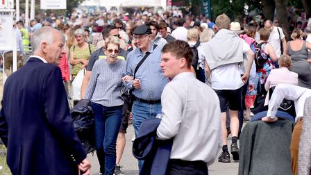 Large Crowds enjoy the 2018 Suffolk Show Picture: NICK BUTCHER