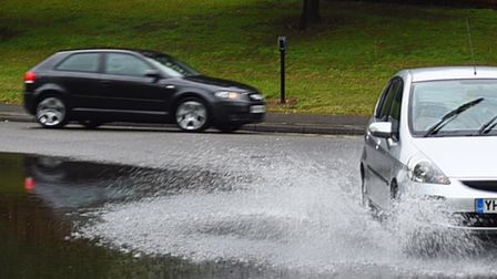 Drivers are being urged to take care on wet roads Picture: GREGG BROWN