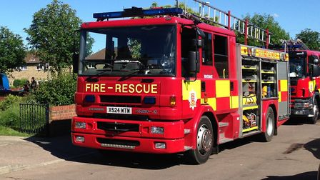 Essex firefighters attended a caravan fire in St Osyth (stock image) Picture: WILL LODGE