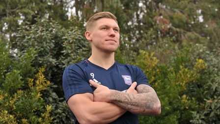 Ipswich Town player Martin Waghorn. Picture: SARAH LUCY BROWN