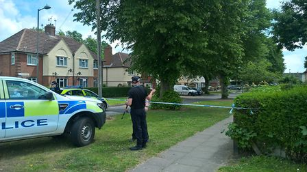Packard Avenue remains closed today Picture: ARCHANT