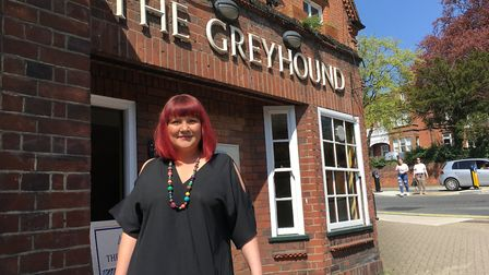 Sarah Shaw, bar manager at the Greyhound pub in Ipswich, which also hosts Meet Up Monday events P