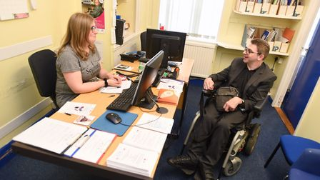 Ipswich Disabled Advice Bureau has helped adults into work Picture: GREGG BROWN