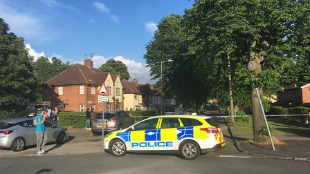 Packard Avenue has been closed by police Picture: ARCHANT