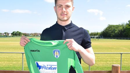 Keeper Bailey Vose, pictured after his recent move from Brighton on a two-year deal. Picture: www.cu