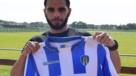 Noah Chesmain, the former Millwall left-back who has joined the U's on a one-year package. Picture: