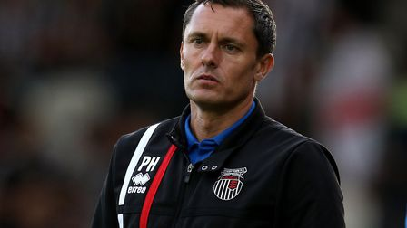 Paul Hurst, pictured during his Grimsby days, is known to be popular with his players. Picture: PA