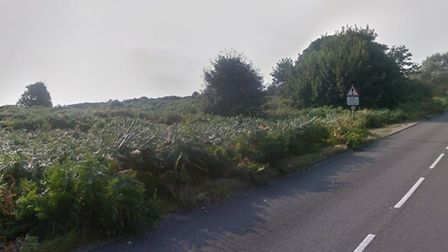 The fire was reported off Corton Road, Lowestoft Picture: GOOGLE