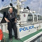 Dawn Wood, skipper of the Essex Police launch boat, is preparing for a 3,000 mile solo row across th