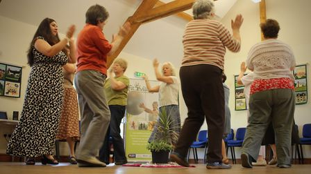 Particpants of Fit Villages in Suffolk Picture: SUFFOLK SPORT