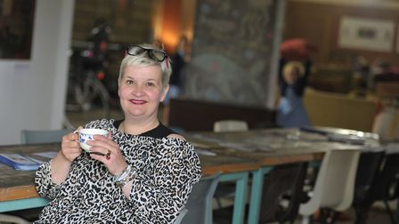Owner of La Tour Cycle Cafe, Anna Matthews Picture: SARAH LUCY BROWN