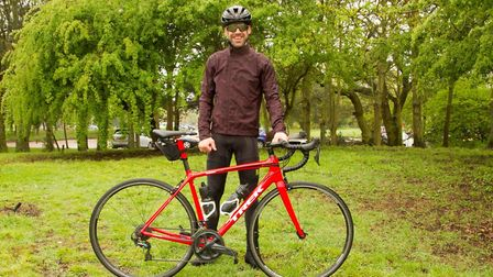 Andrew McMurray is preparing for an epic cycle to raise money for The Brain Tumour Charity Picture:
