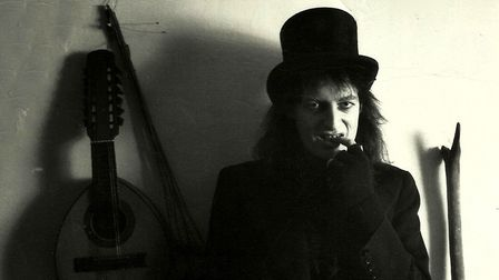 Writer and musician Martin Newell pictured in the late 1980s. He will perform his Eye Tunes gig at C