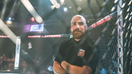 Referee Dan Movahedi has just made his debut as a UFC official after years of hard work honing his c