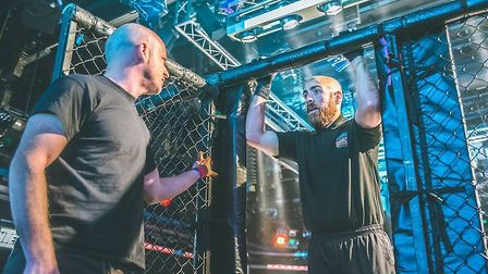 Dan Movahedi can be found commanding a cage or ring at combat sport shows all over the country - he