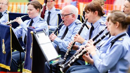Bands performed at Jamie's SSAFA Fun Day in Wickham Market Picture: RAINYWOOD PHOTOGRAPHY