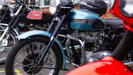 Vintage vehicles on show at Jamie's SSAFA fun day in Wickham Market Picture: RAINYWOOD PHOTOGRAPHY
