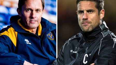 Paul Hurst will be assisted by Chris Doig at Portman Road. Pic: Shropeshire Star/PA