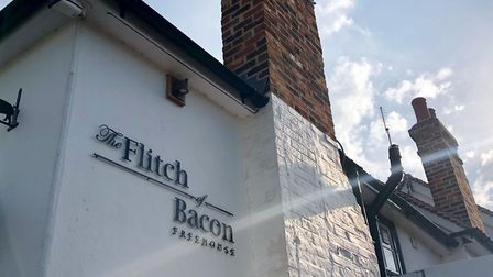 The Flitch of Bacon in Little Dunmow, Essex. Picture: MARK HEATH