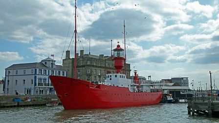 Former Lightship the LV 18 at Harwich Picture: GRAHAM EWENS
