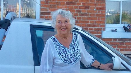 Betty Holbrook is delighted to be receiving an MBE Picture: BETTY HOLBROOK