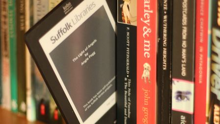 eBooks are proving popular in Suffolk Picture: SUFFOLK LIBRARIES