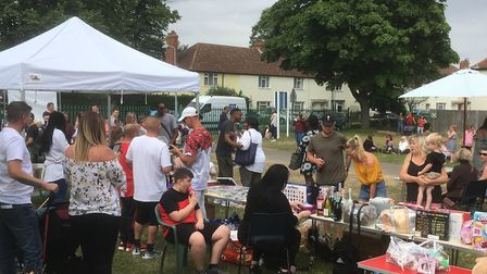The fundraising event in memory of Tavis Spencer-Aitkens at Nansen Road Baptist Church Picture: ARCH