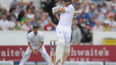 England star Alastair Cook scored 58 runs for Essex in their first innings against Lancashire. Pictu