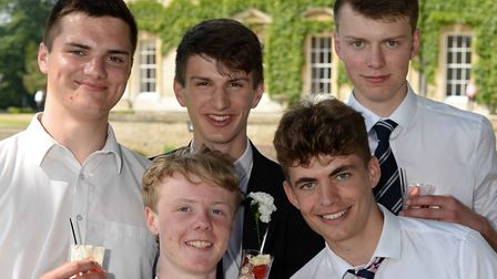Leavers at Culford School Picture: PAGEPIX