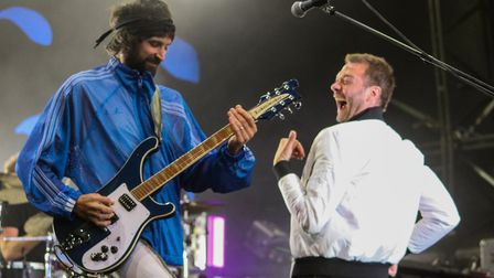 Kasabian at Thetford Forest. Picture: SAM DAWES