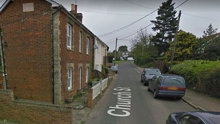 The fire happened at a home in Church Street, Colne Engaine Picture: GOOGLE MAPS