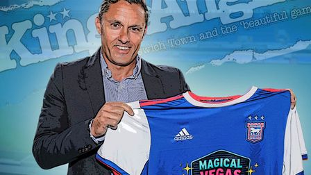Paul Hurst was unveiled as the new Ipswich Town boss today